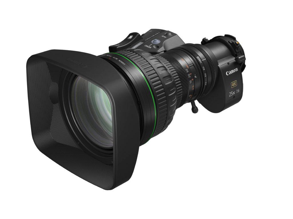 Canon amplia linha de lentes de zoom portáteis para câmeras de broadcast 4K