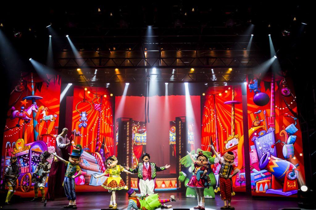 Circo Turma da Mônica no Teatro Oi Casa Grande