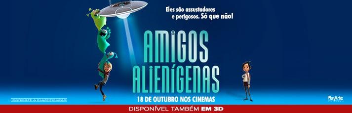 Amigos Alienígenas estreia dia 18/10