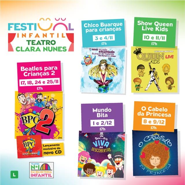Festival Infantil Teatro Clara Nunes