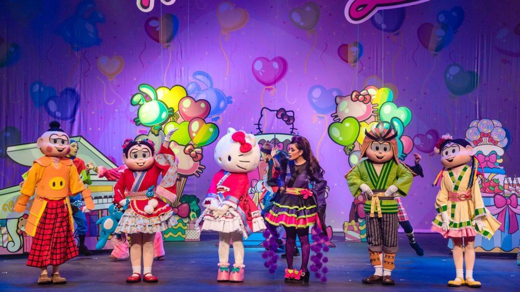 Turma da Mônica e Hello Kitty no Teatro Bradesco Rio