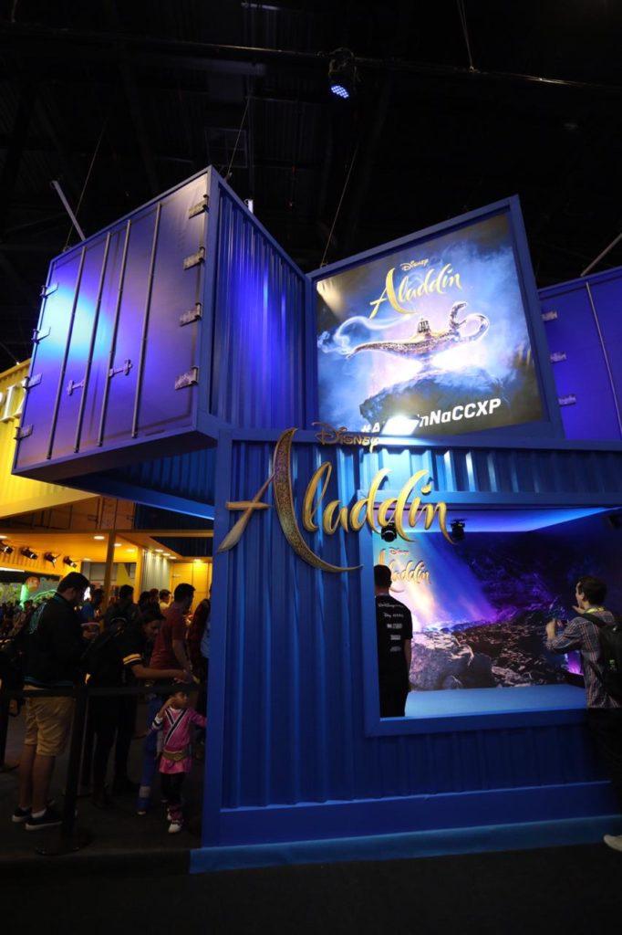 Disney leva experiência de seis filmes para estande na CCXP18