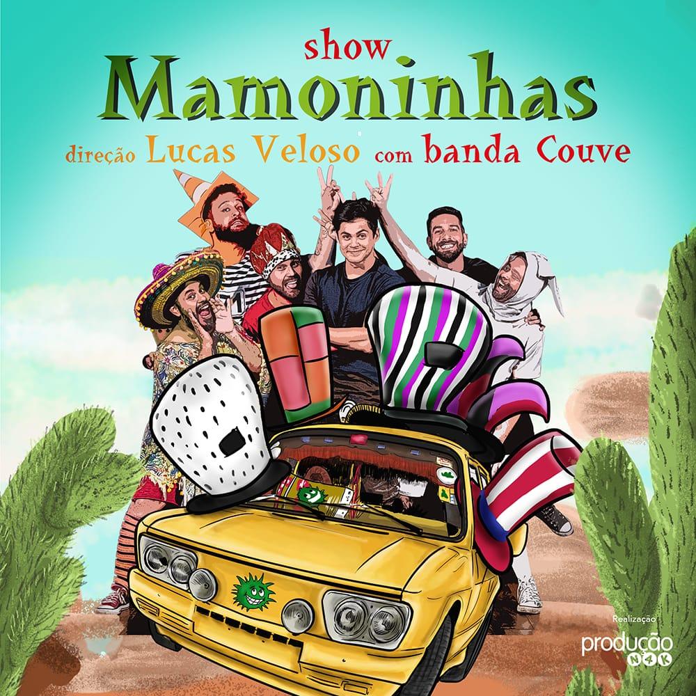 Show Mamoninhas no Teatro Clara Nunes direção Lucas Veloso