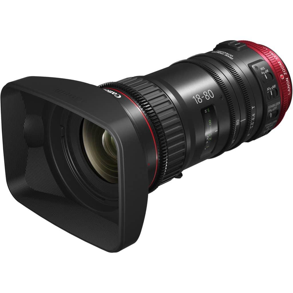 Canon realizará livestream sobre lentes de cinema Compact-Servo