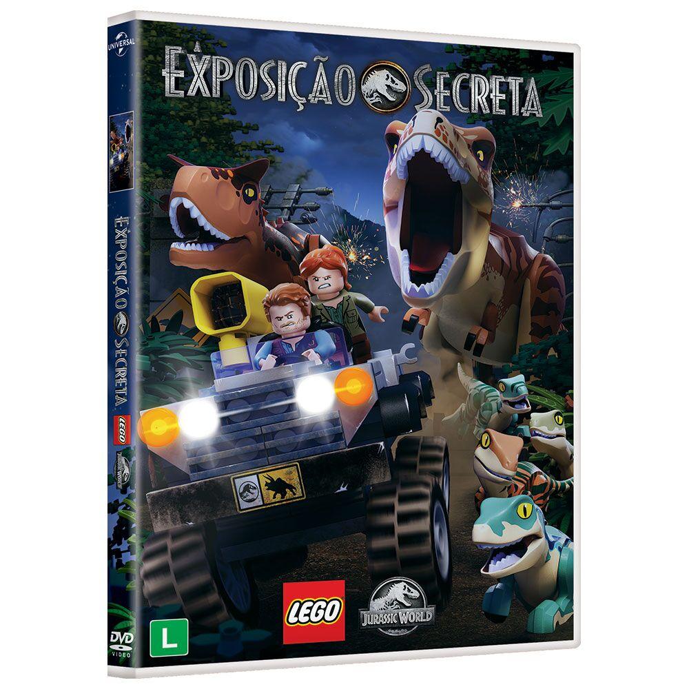 Lego® Jurassic World: A Exposição Secreta em DVD
