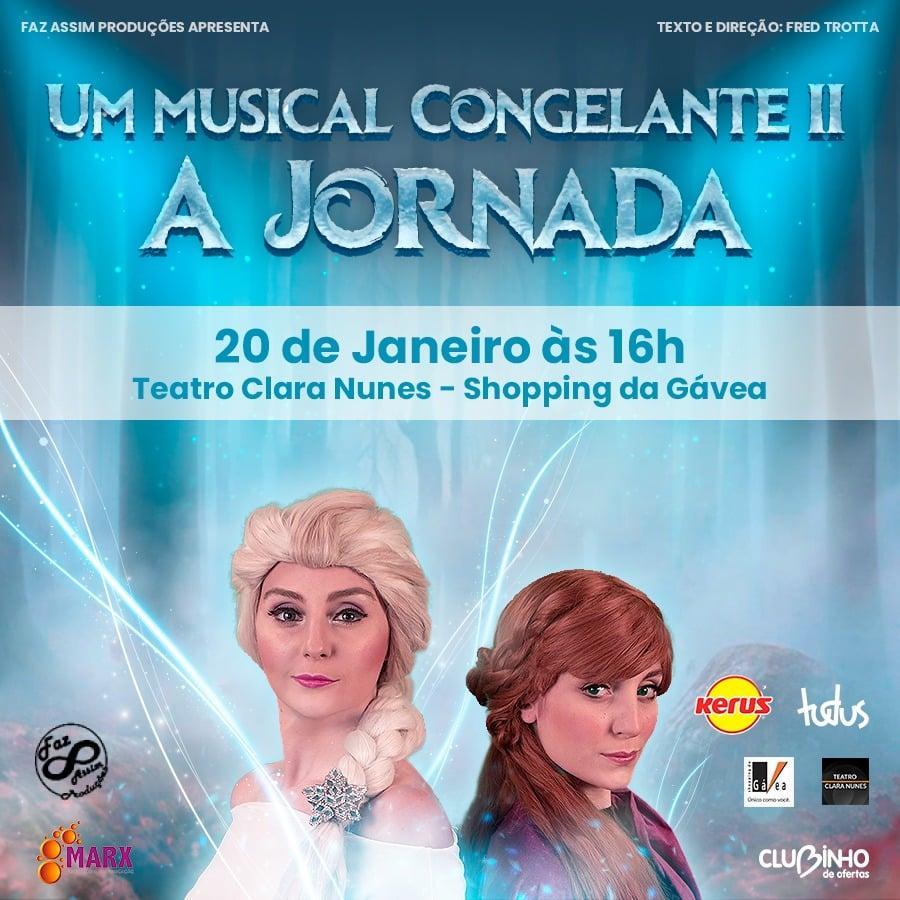 Um Musical Congelante II - A Jornada