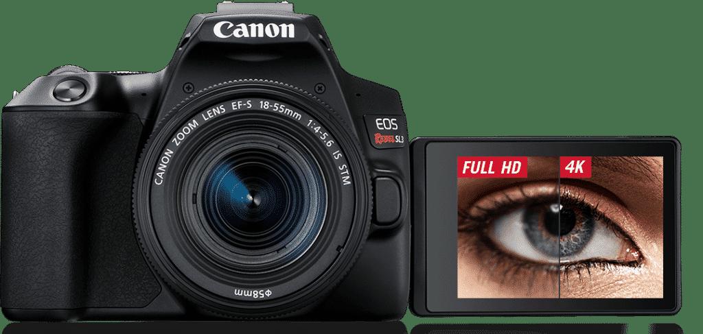 Canon lança sua primeira câmera 4K de entrada para o mercado