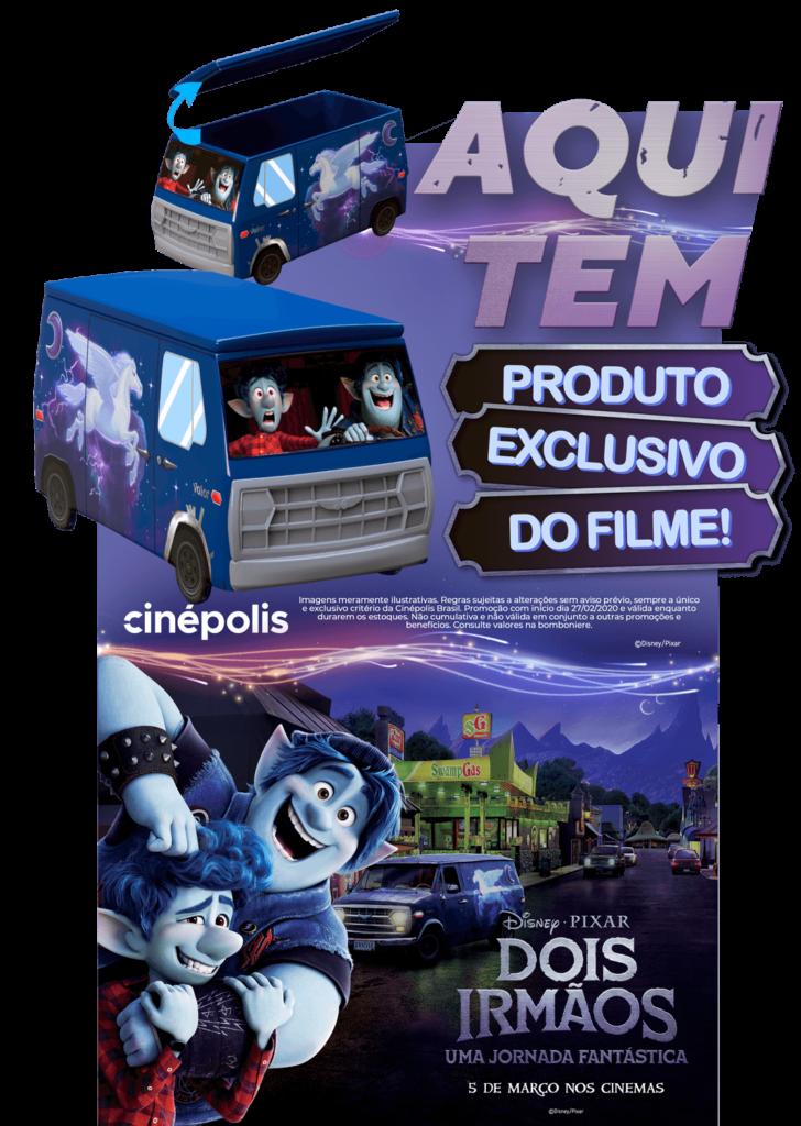 """Cinépolis anuncia produto exclusivo do longa """"Dois Irmãos: Uma Jornada Fantástica"""""""