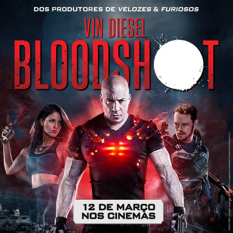 Bloodshot com Vin Diesel dia 12 nos cinemas