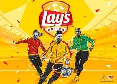 Lay's lança campanha internacional de 2020 em parceria com a liga dos Campeões da UEFA