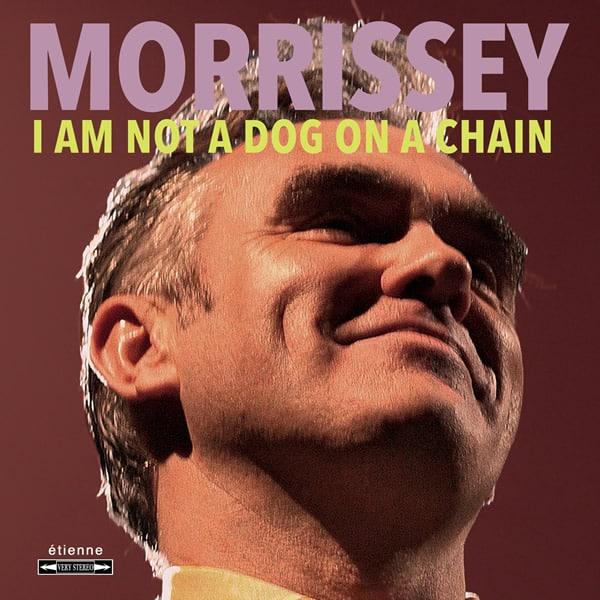 "Morrissey lança ""I Am Not a Dog on a Chain"", seu 13° disco solo"