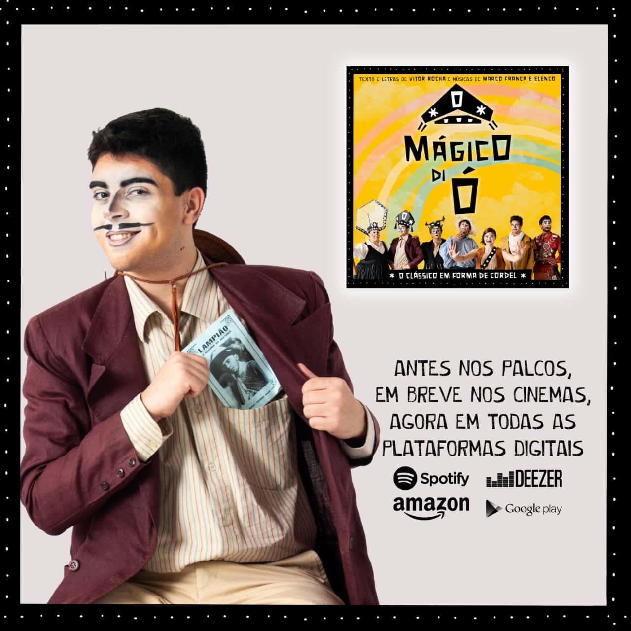 Vitor Rocha lança trilha sonora de 'O Mágico di Ó – O Clássico Em Forma de Cordel