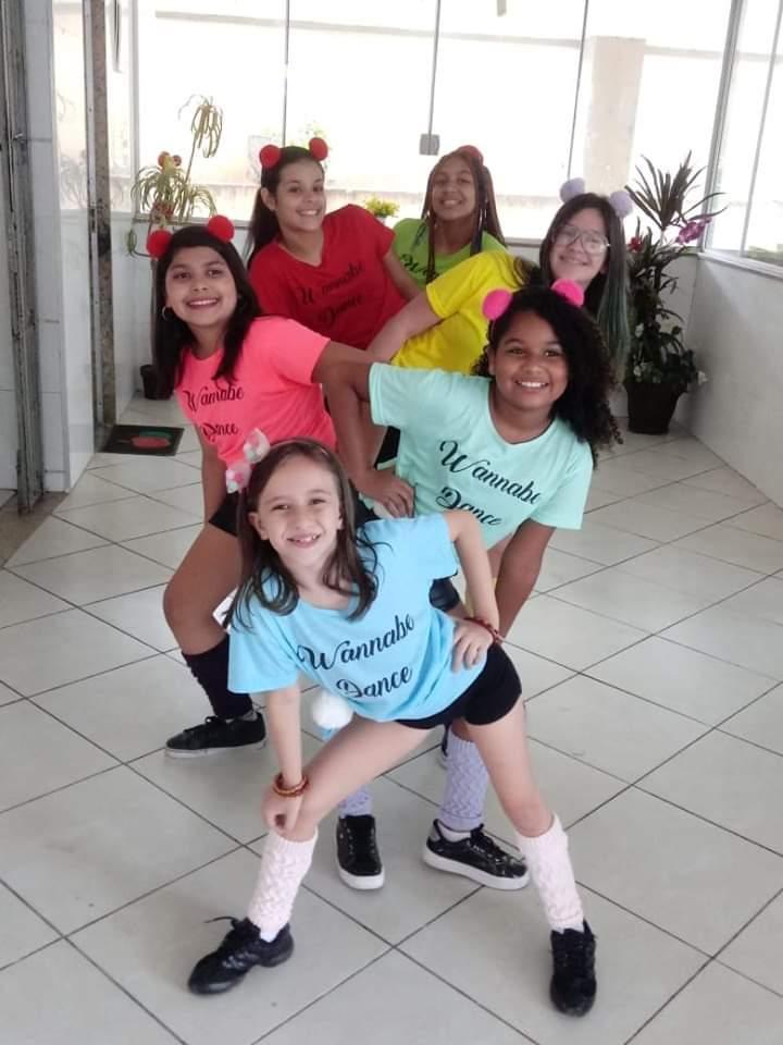Wannabe Dance no Show de Talentos do Cine Estrelas