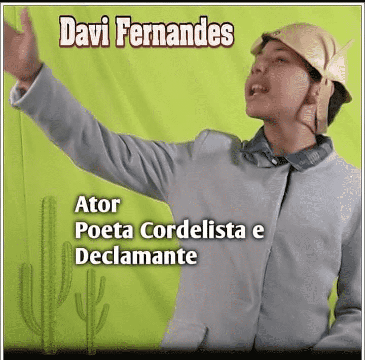 Davi Fernandes no Show de Talentos do Cineplaneta