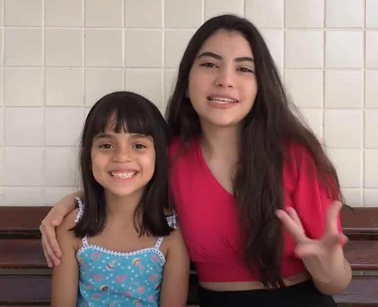 """Soffia Monteiro e Cecíliah Freitas """"Volta Ao Mundo Na Páscoa"""""""