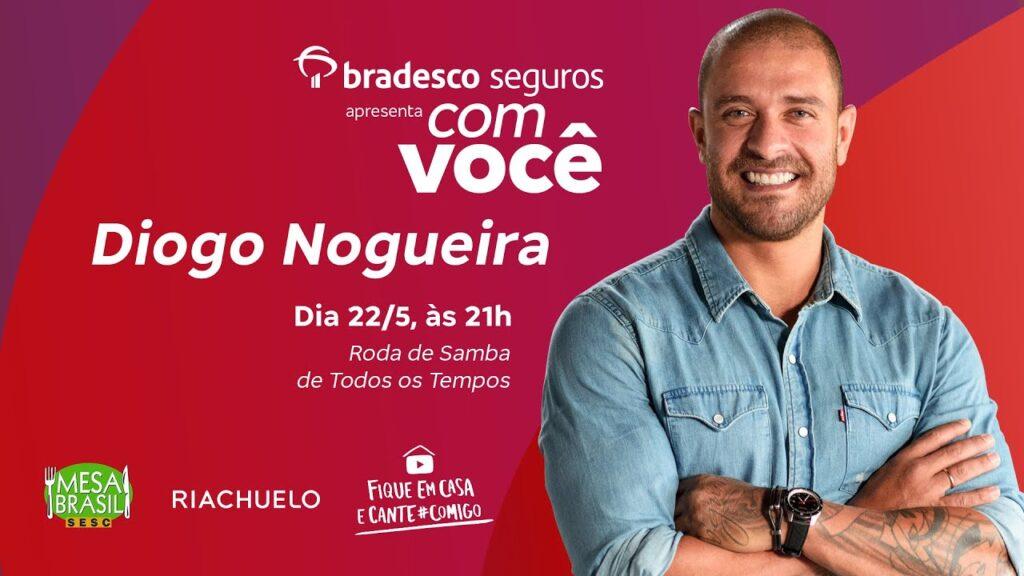 Bradesco Seguros anuncia próxima live com Diogo Nogueira