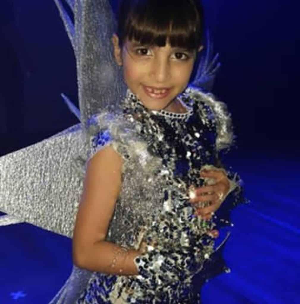 Gabriella Pieri no Show de Talentos do Cineplaneta