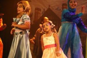 Alicia Bernardo no Show de Talentos do Cine Estrelas