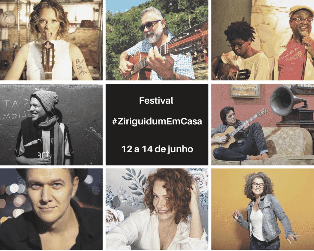 Festival #ZiriguidumEmCasa apresenta sua décima edição