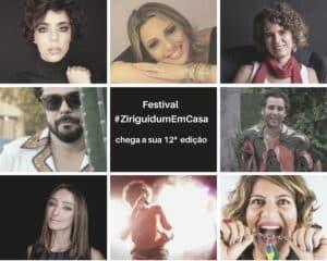 Festival #ZiriguidumEmCasa chega a sua 12ª edição