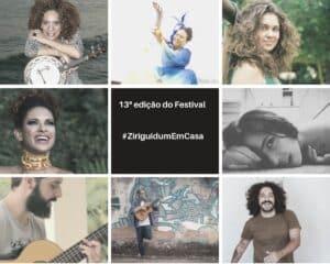 13ª edição do Festival #ZiriguidumEmCasa