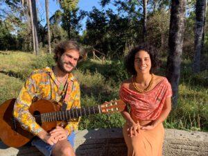 Gustavito e Laura Catarina quarta live da imersão criativa da dupla