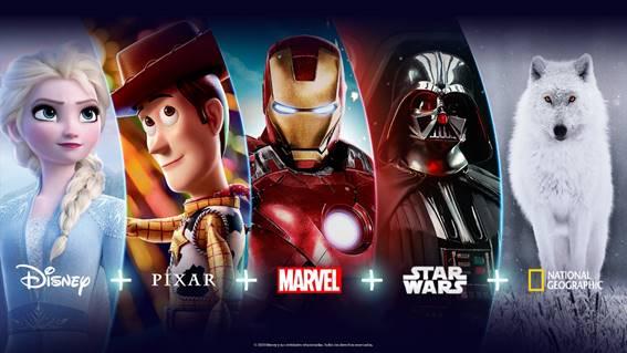 Lançamento Disney no Brasil