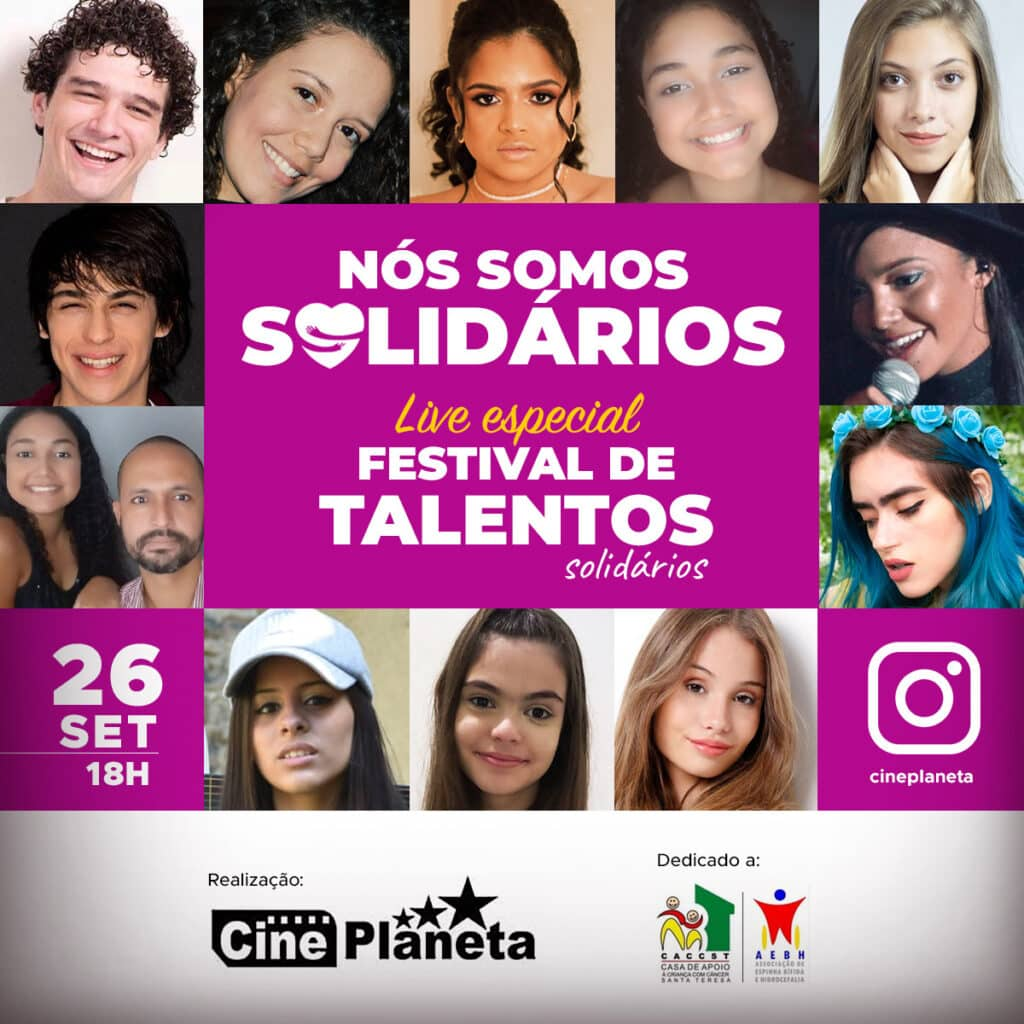 Primeira edição do Festival de Talentos Solidários Cineplaneta