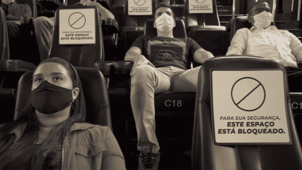 Protocolos de segurança da Rede Cinépolis para para reabertura dos cinemas em Campinas e Jundiaí