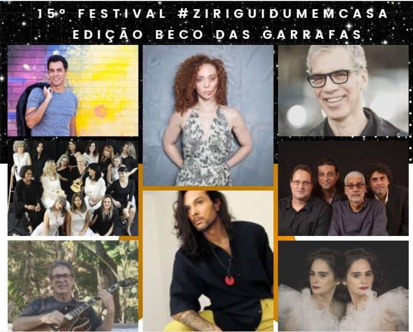 15º Festival #ZiriguidumEmCasa - edição Beco das Garrafas