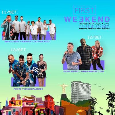 First Weekend proporciona a experiência da música ao vivo