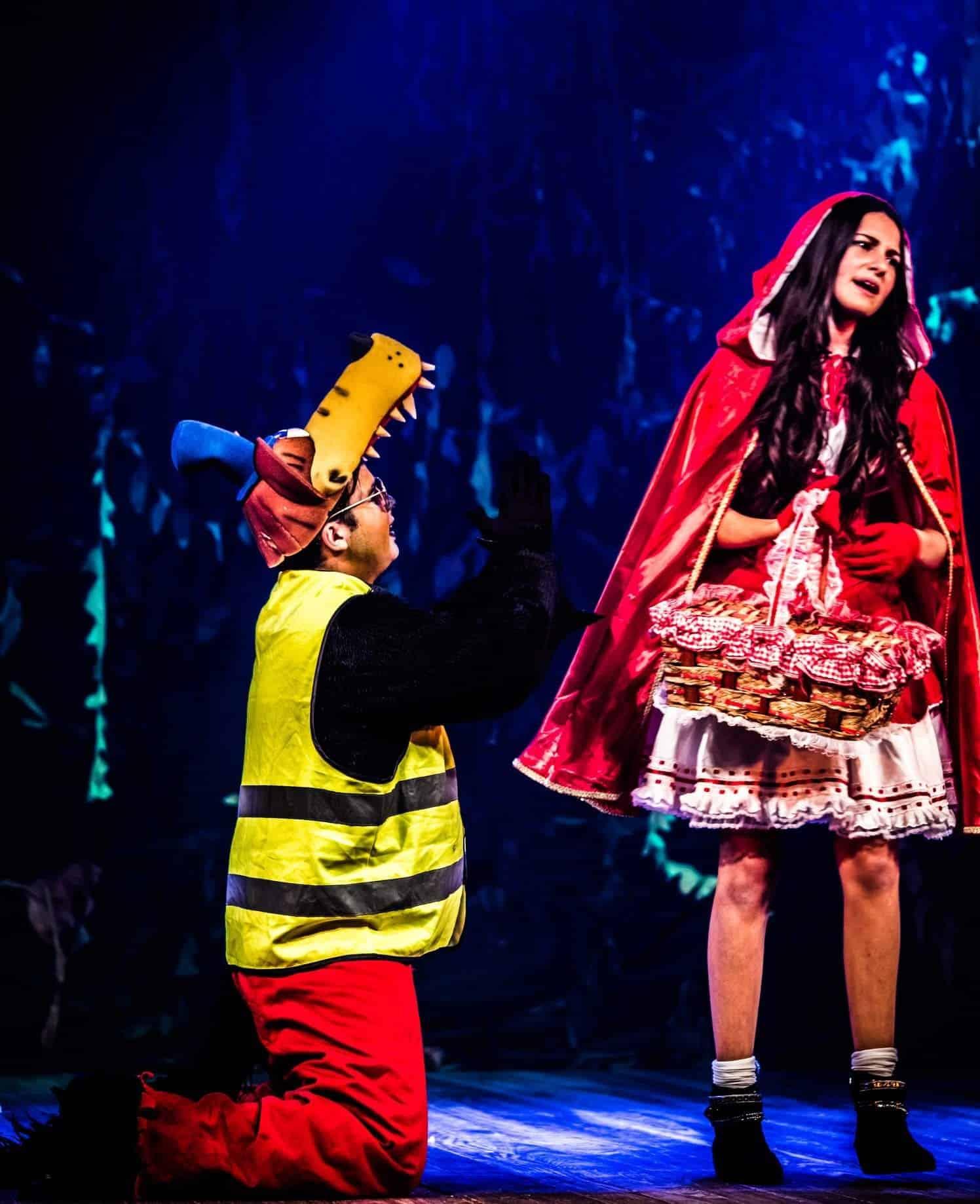 Chapeuzinho Vermelho da Fazart no Teatro das Artes
