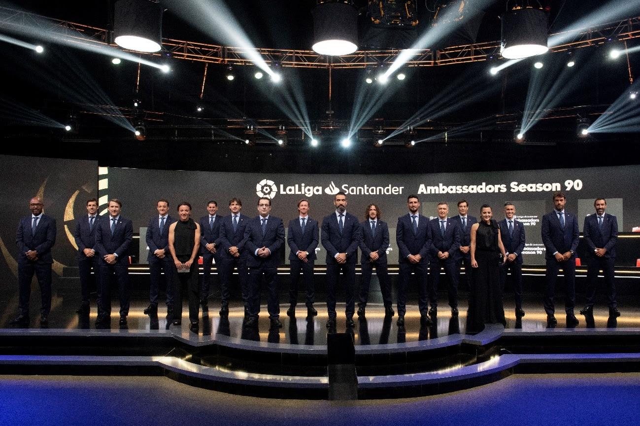 LaLiga apresenta novos embaixadores e preparativos do ElClásico