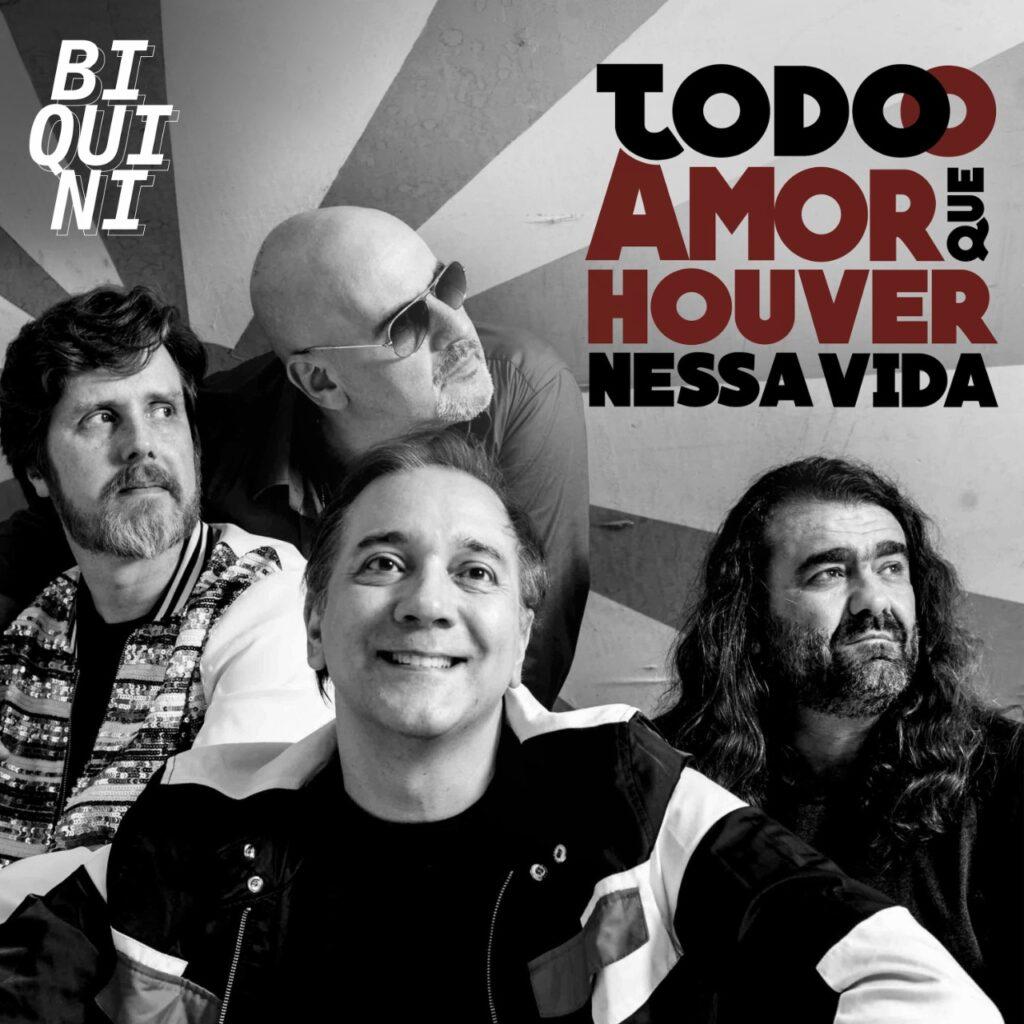 Biquini lança single com música de Cazuza