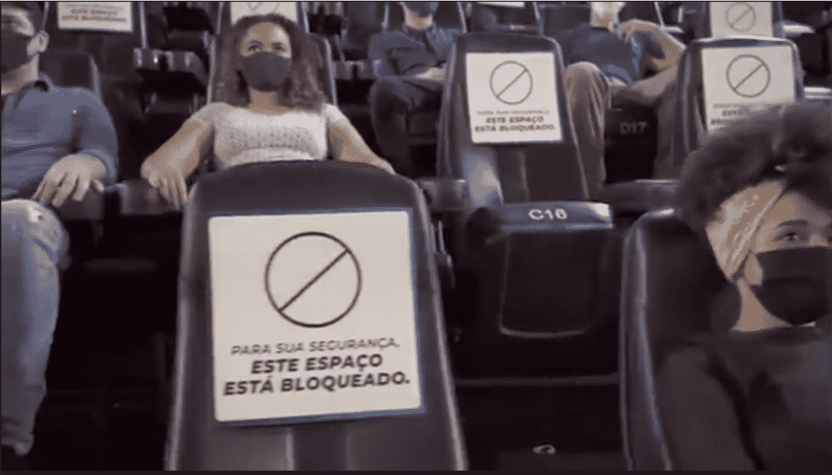 Cinépolis aguarda cenário adequado para reabertura dos cinemas