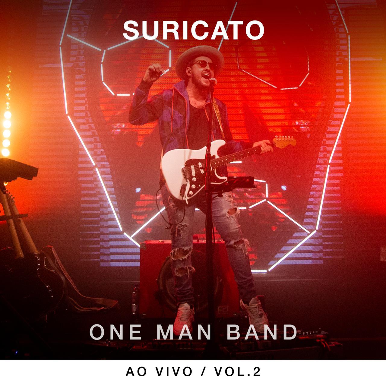 Suricato lança primeiro disco ao vivo com performance inspirada nos músicos de rua