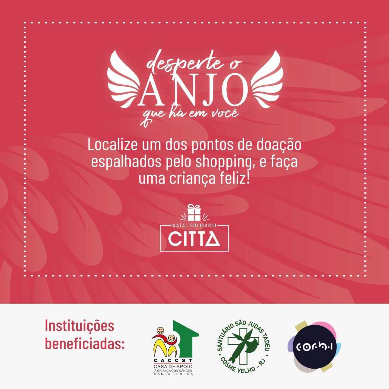 Decoração do Città Office Mall se transforma em Doação!