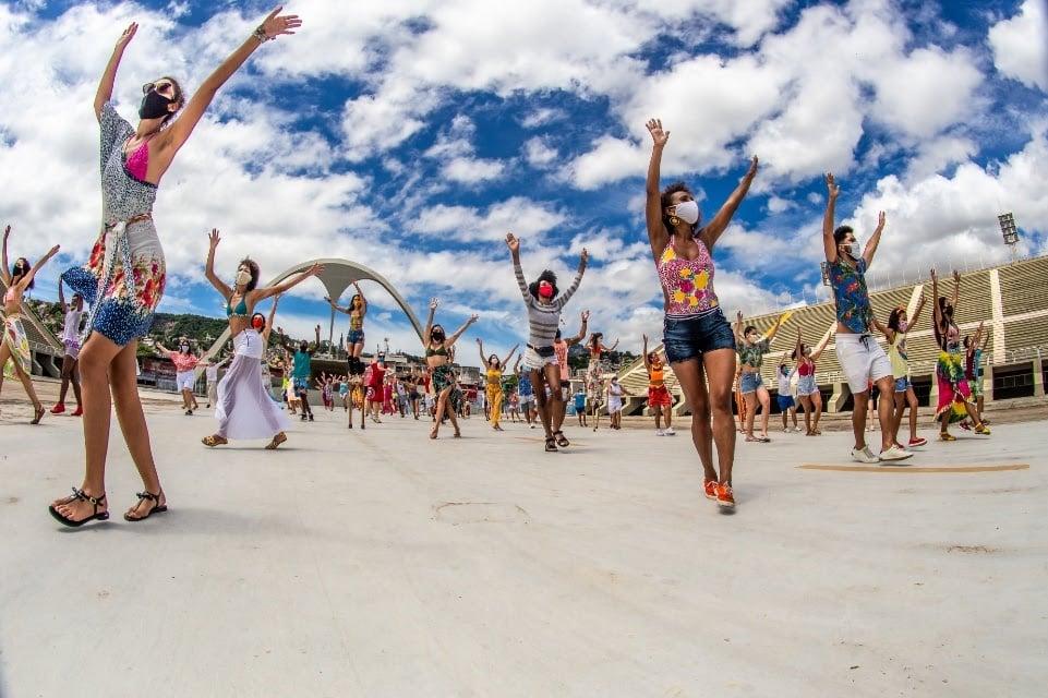 Projeto Samba Dança junta dançarinos de todo o país em prol do combate à fome