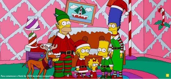 SIMPSONS - Episódios natalinos ganham especial no dia 2512