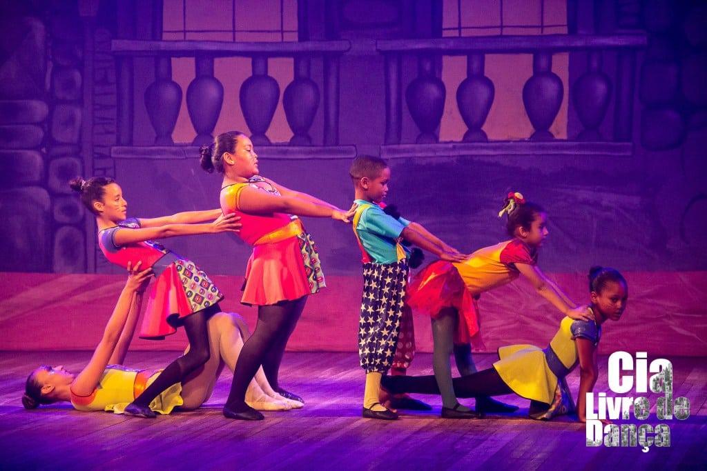 Cia Livre de Dança, da Rocinha