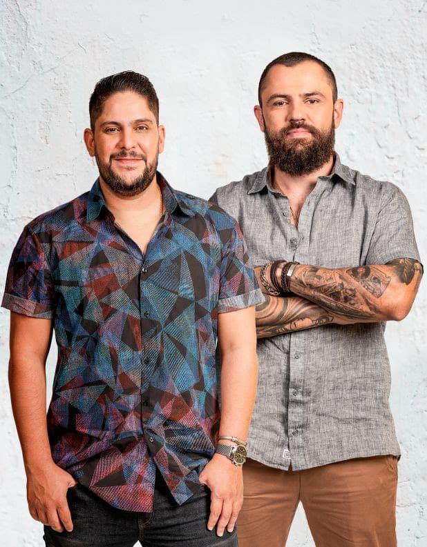 Jorge & Mateus renovam contrato com a Som Livre