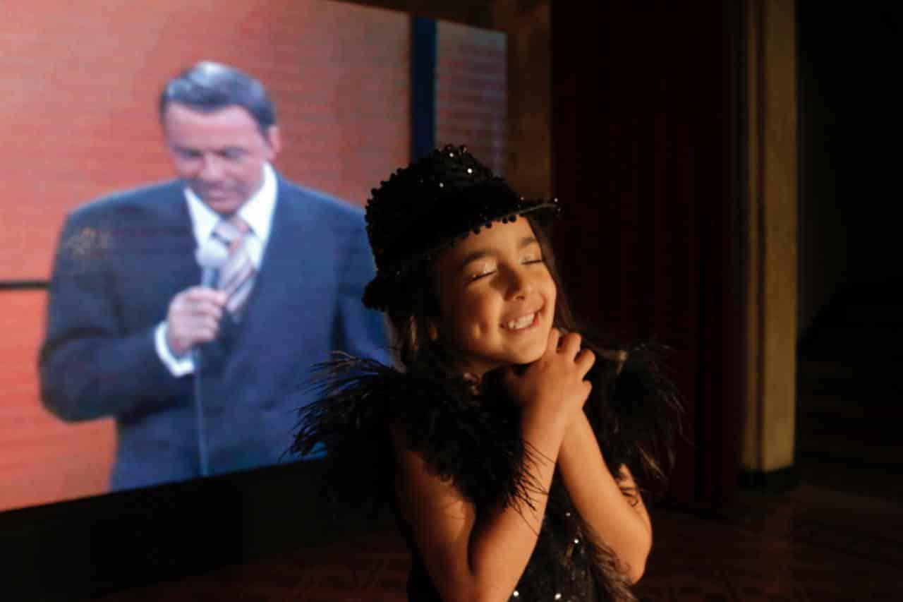 Sinatrinha entrevista Show de Talentos Cineplaneta