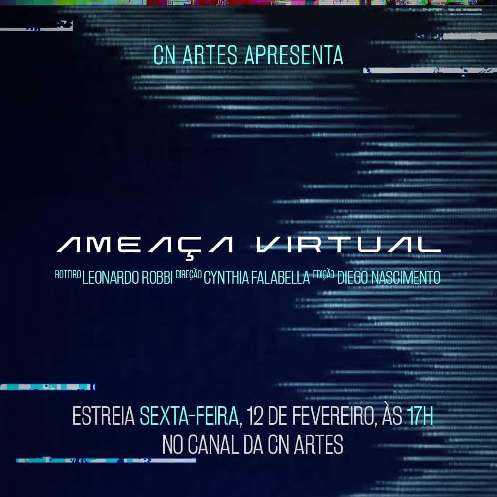 """Clarah Passos estreia em curta """"Ameaça Virtual"""""""