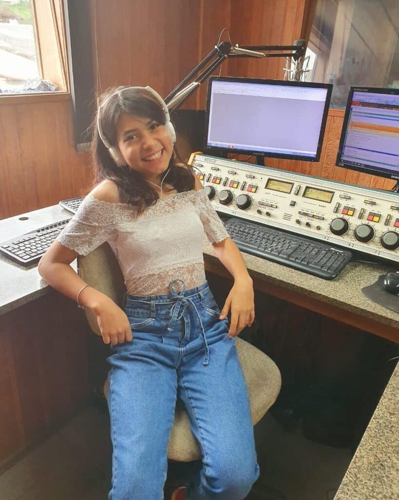 Giovannah Leite entrevista ao canal Estrelas do Cineplaneta
