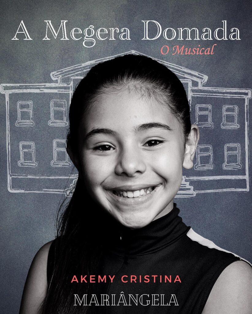 Akemy Cristina integra o elenco de 'A Megera Domada - o Musical'