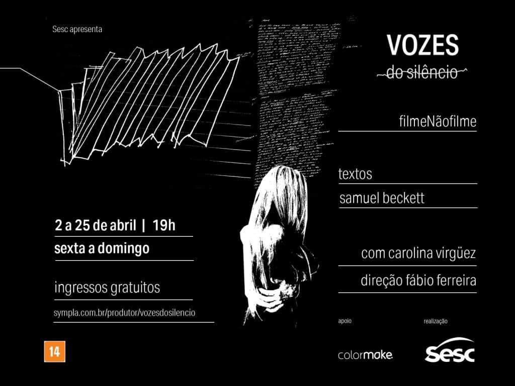 SESC apresentaVozes do Silêncio–Filme não Filme