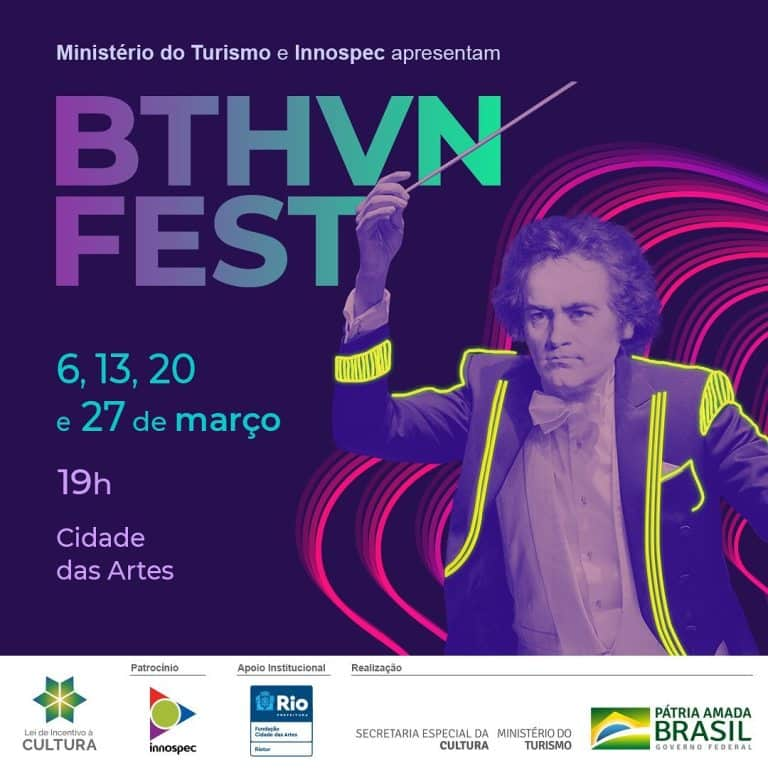 Beethoven Fest na Cidade das Artes nos sábados de março