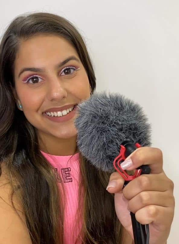Anna Sophia entrevista ao canal Estrelas do Cineplaneta