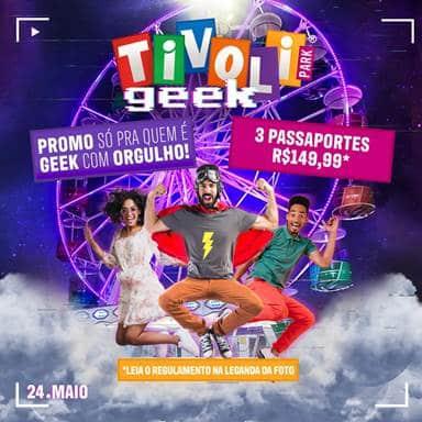 TivoliPark, na Barra da Tijuca, Rio, celebra o dia Internacional do Orgulho GEEK