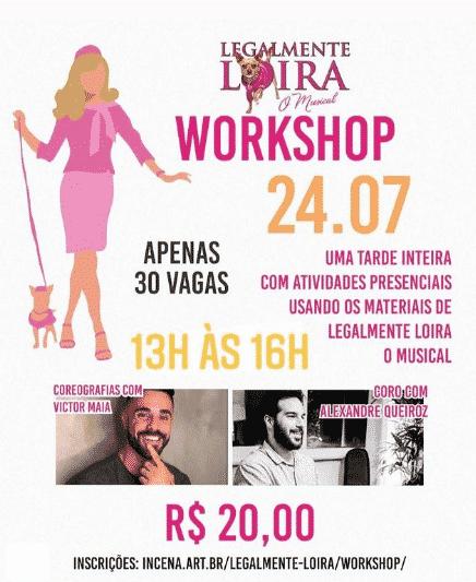 """Workshop """"Legalmente Loira"""""""